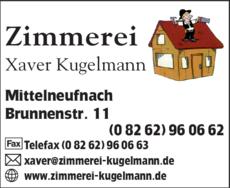 Zimmerei Kugelmann