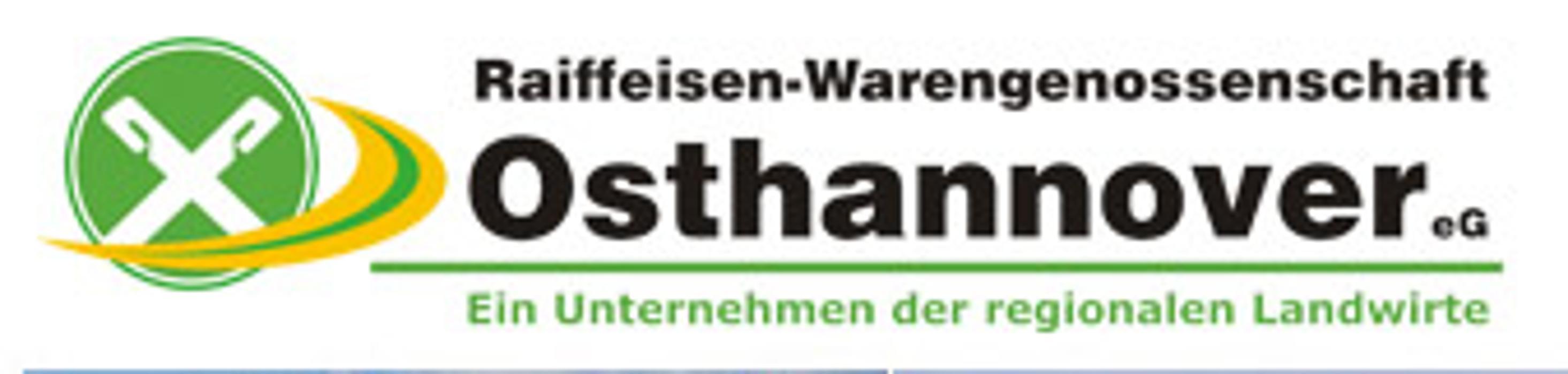 Logo von RWG Osthannover eG - Raiffeisen-Markt Burgdorf und 24h-Tankstelle