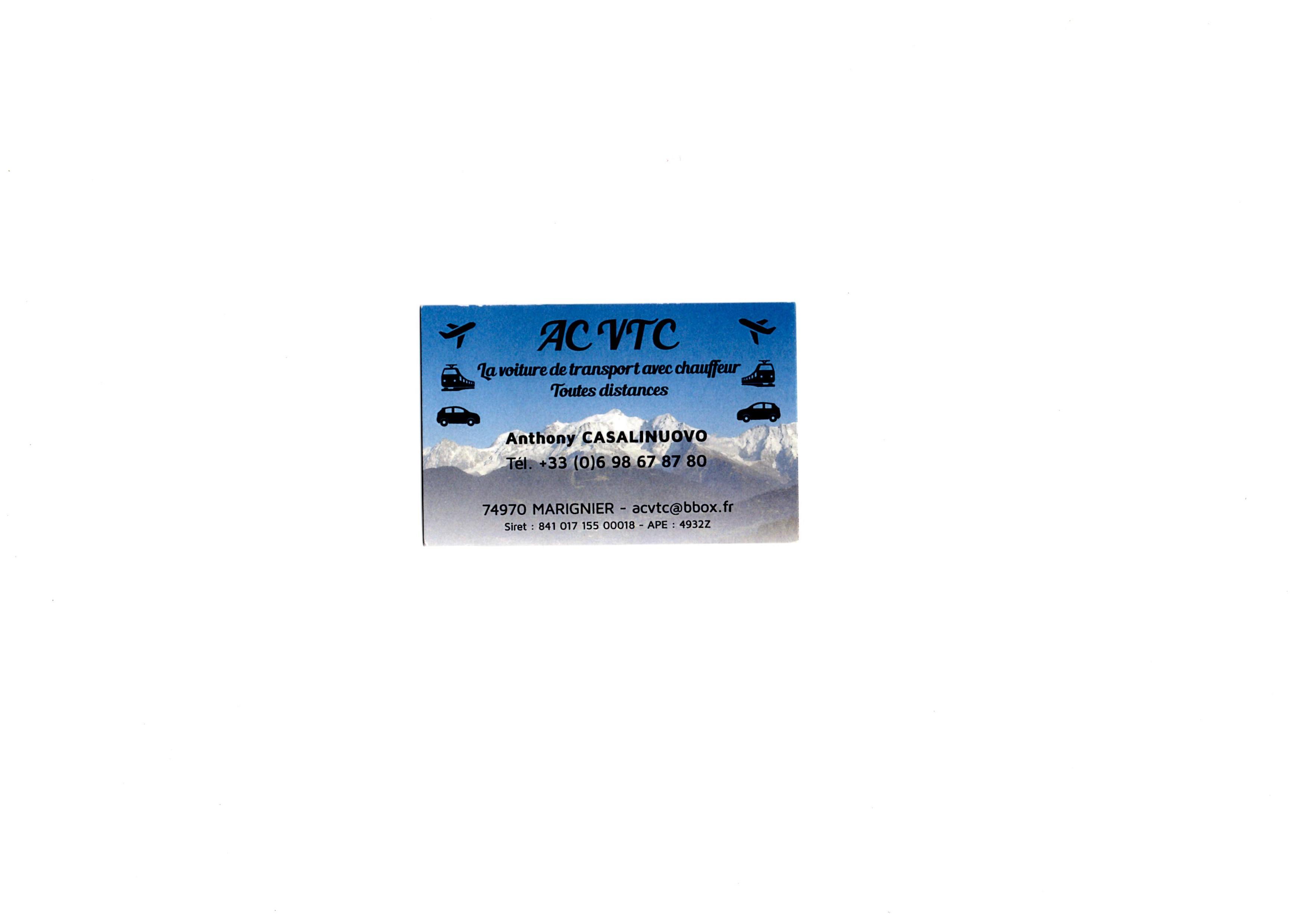 ACVTC anthony casalinuovo Services aux entreprises