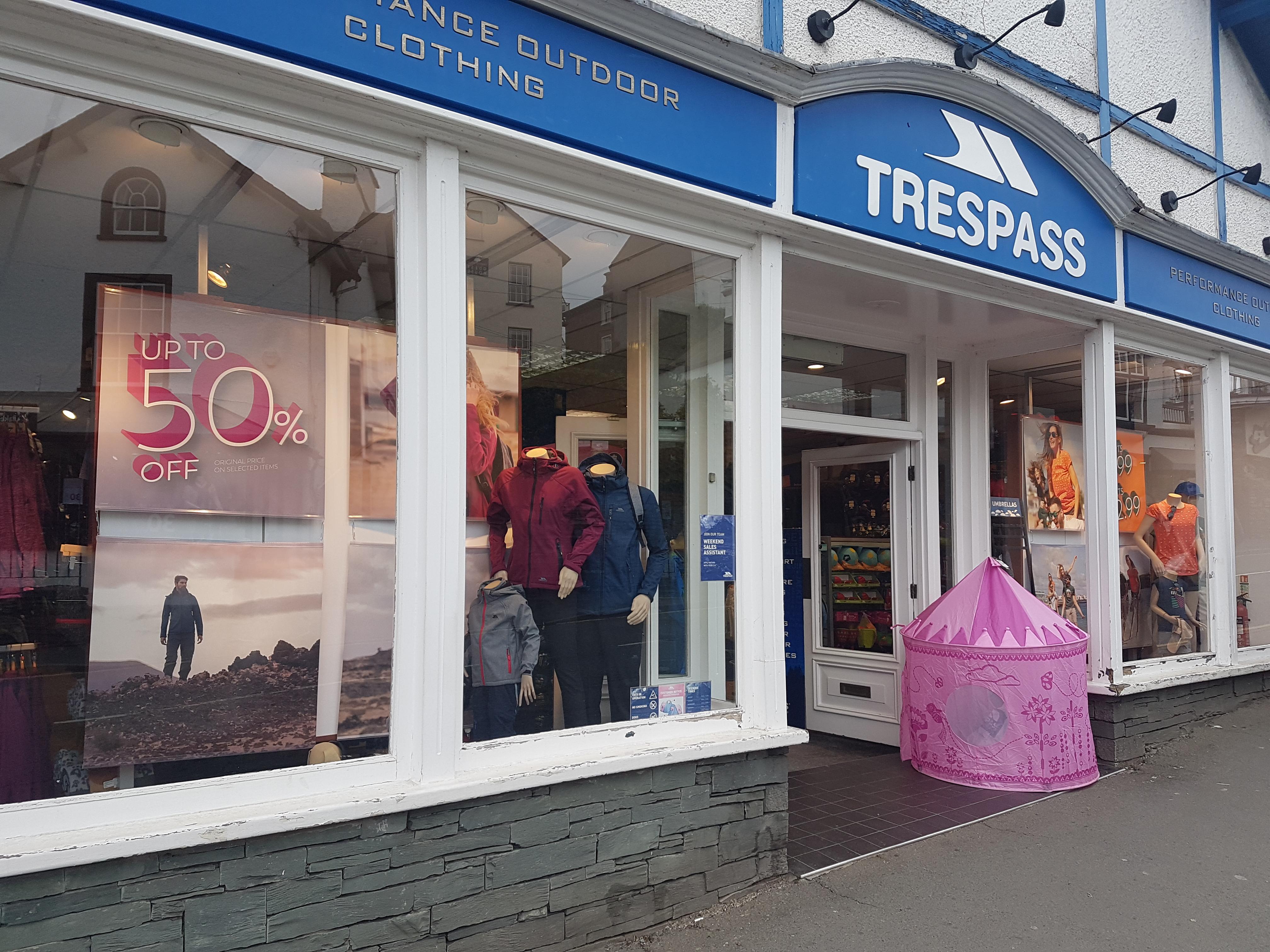 Trespass - Bowness-on-Windermere, Cumbria LA23 3BT - 01539 446136 | ShowMeLocal.com