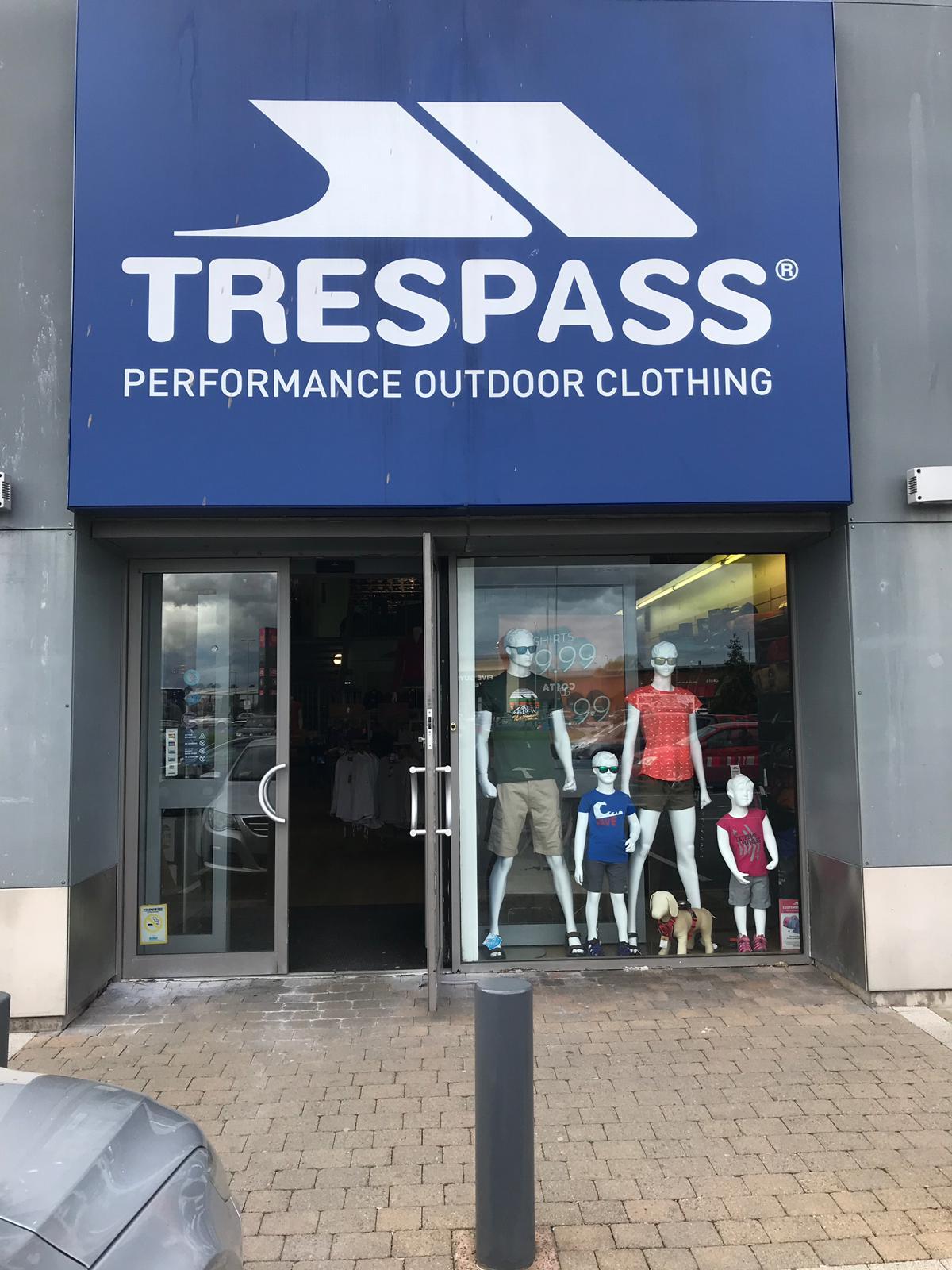 Trespass - Belfast, County Antrim BT12 6HU - 02890 663747 | ShowMeLocal.com