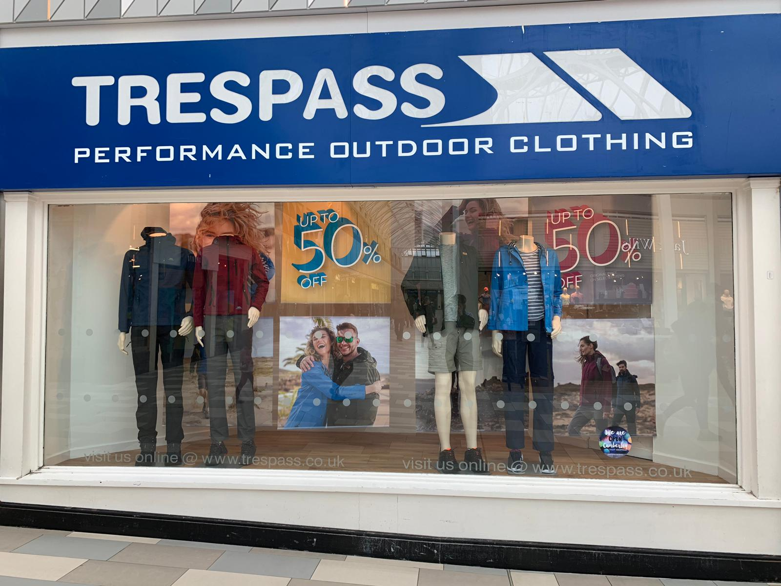 Trespass - Castleford, West Yorkshire WF10 4FR - 01977 515594 | ShowMeLocal.com