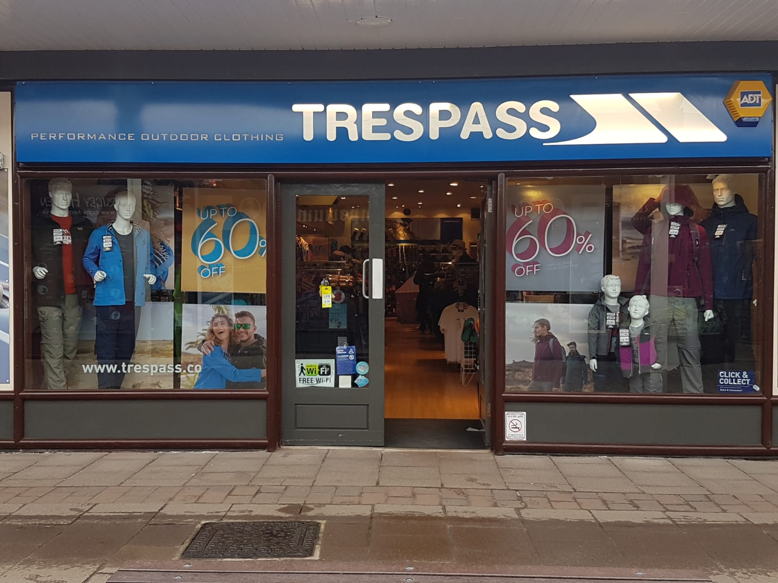 Trespass - Edinburgh, Midlothian EH2 2ND - 01312 257456 | ShowMeLocal.com