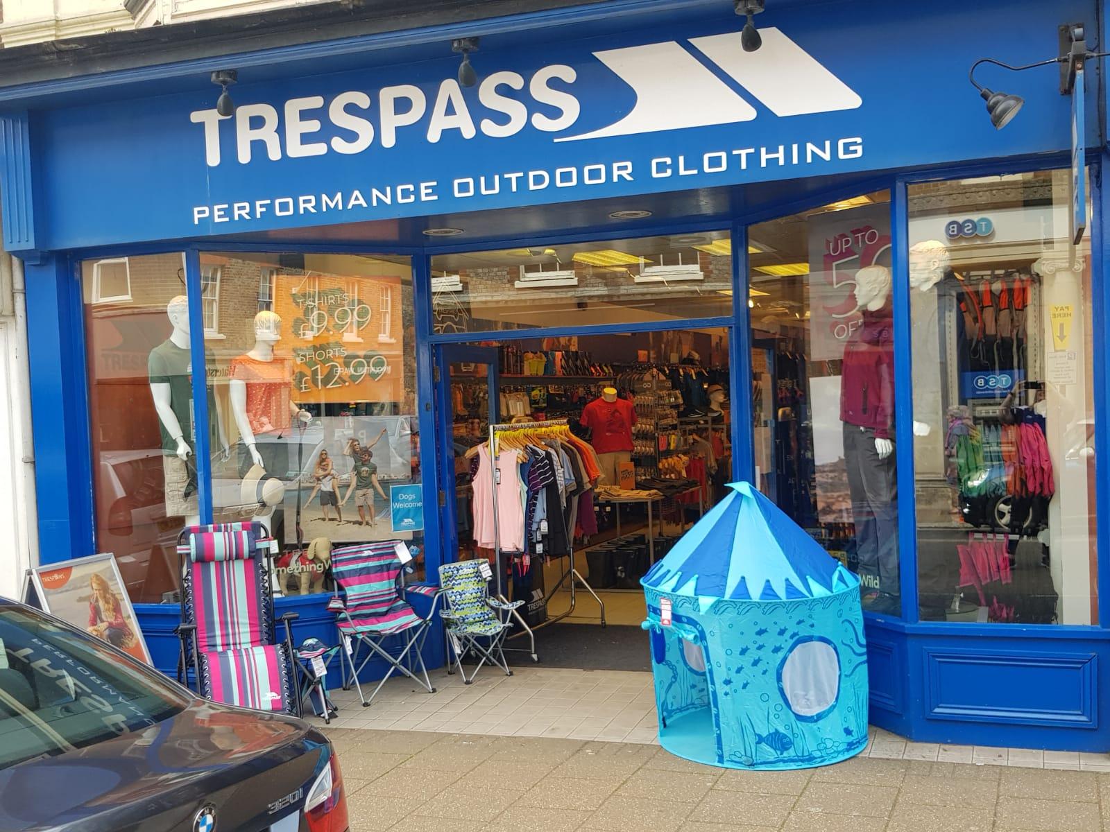 Trespass - Newport, Isle of Wight PO30 1SE - 01983 537420 | ShowMeLocal.com