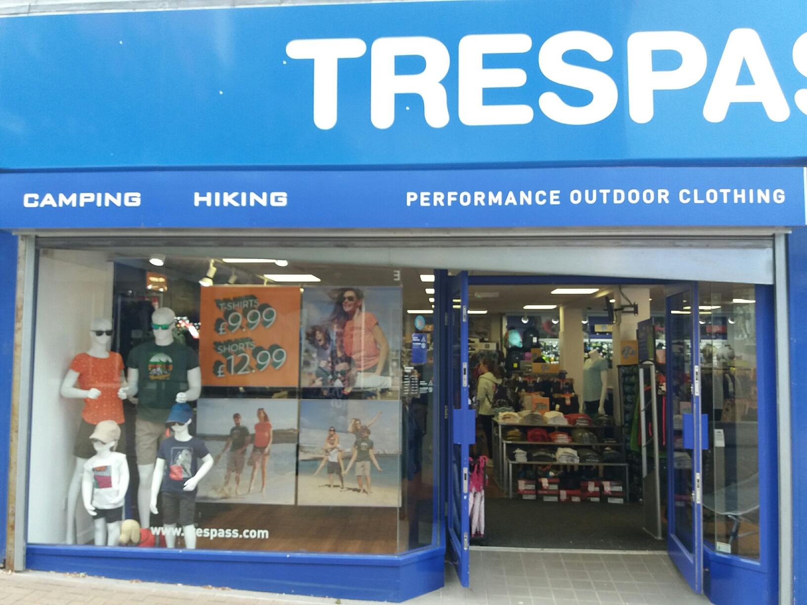 Trespass - Stoke-on-Trent, Staffordshire ST1 1PF - 01782 213149 | ShowMeLocal.com