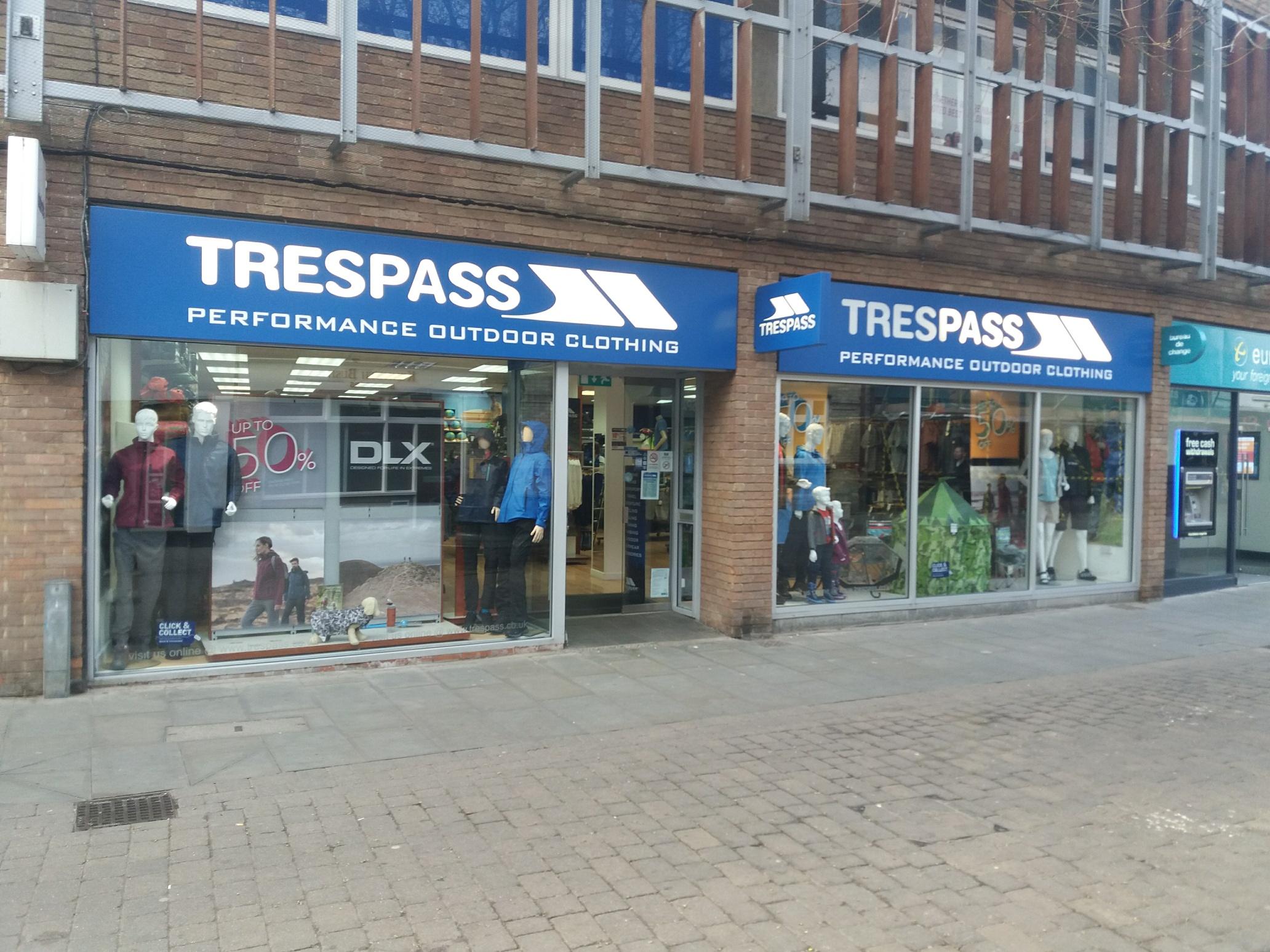 Trespass - King's Lynn, Norfolk PE30 1DL - 01553 818705 | ShowMeLocal.com