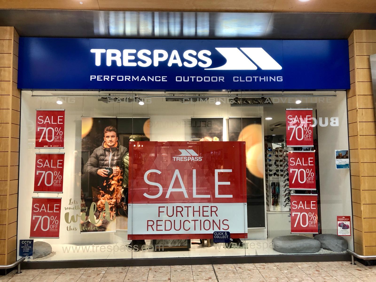 Trespass - Newry, County Down BT35 8QS - 02830 834716 | ShowMeLocal.com