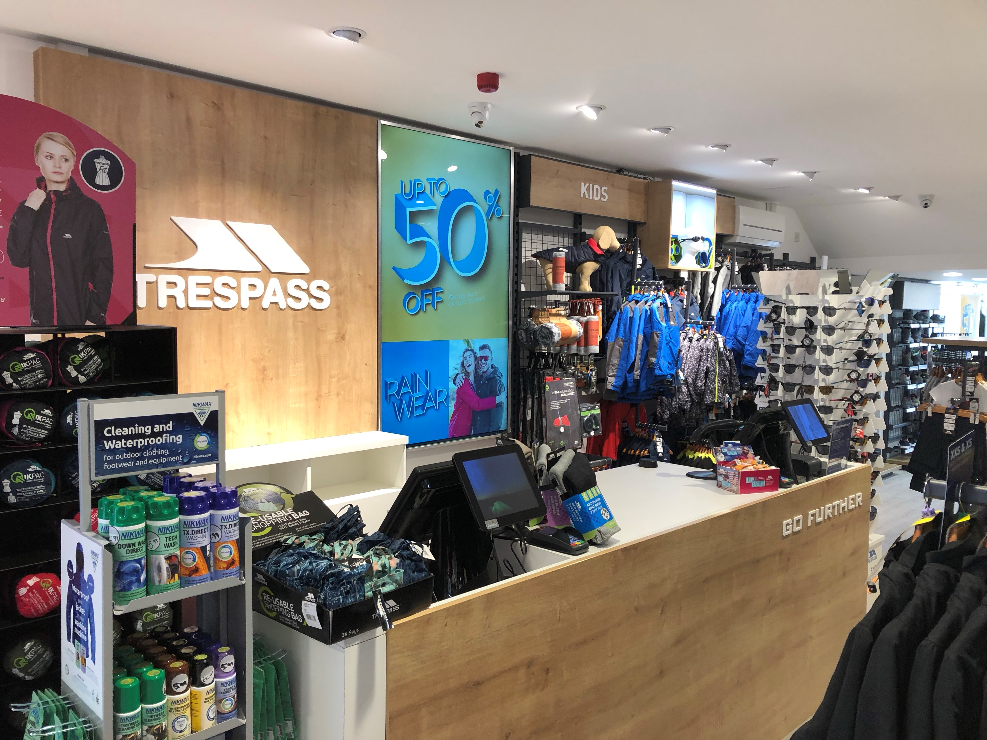 Trespass - Hereford, Herefordshire HR1 2DT - 01432 353252 | ShowMeLocal.com