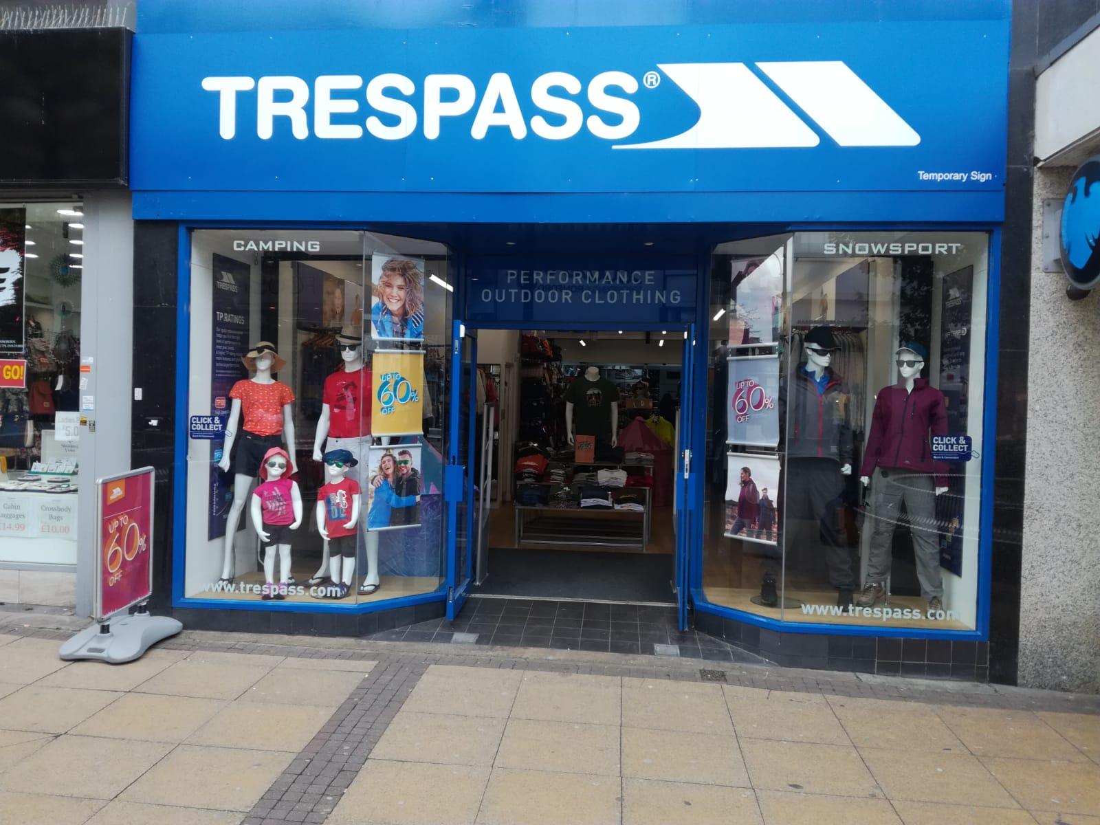 Trespass - Romford, London RM1 1UP - 01708 725971   ShowMeLocal.com