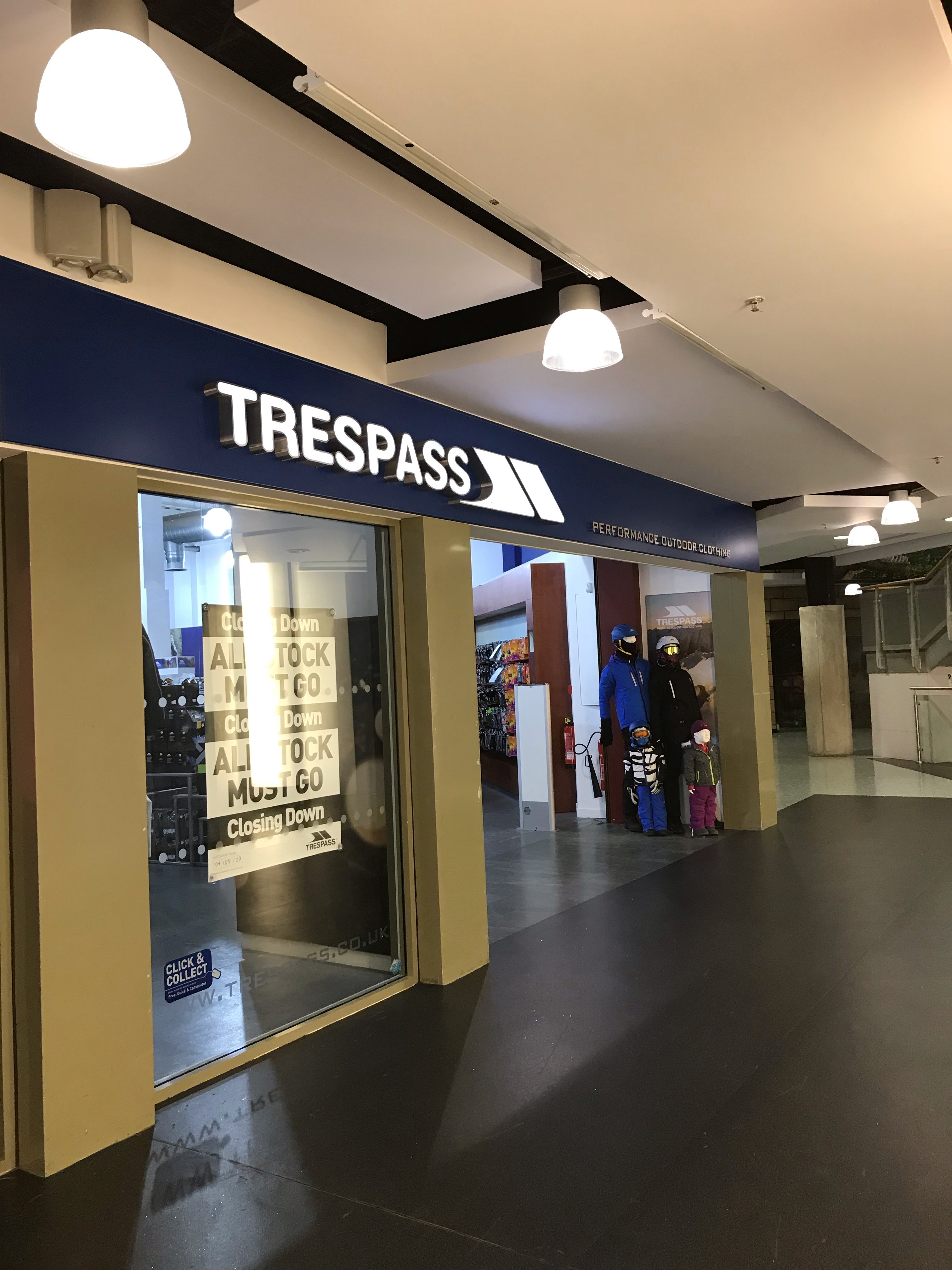 Trespass - Castleford, West Yorkshire WF10 4TA - 01977 516510 | ShowMeLocal.com