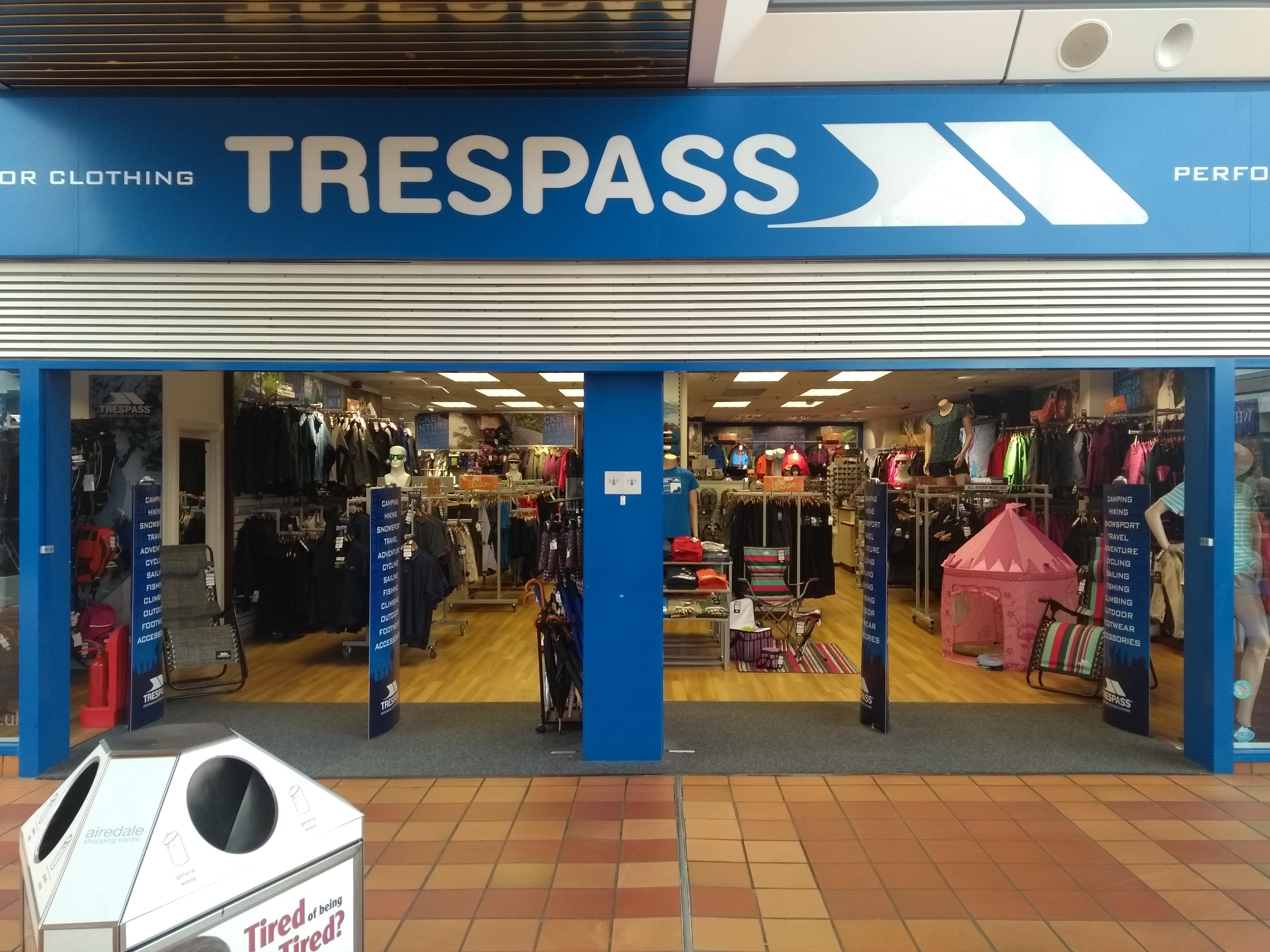 Trespass - Keighley, West Yorkshire BD21 3PH - 01535 602872 | ShowMeLocal.com