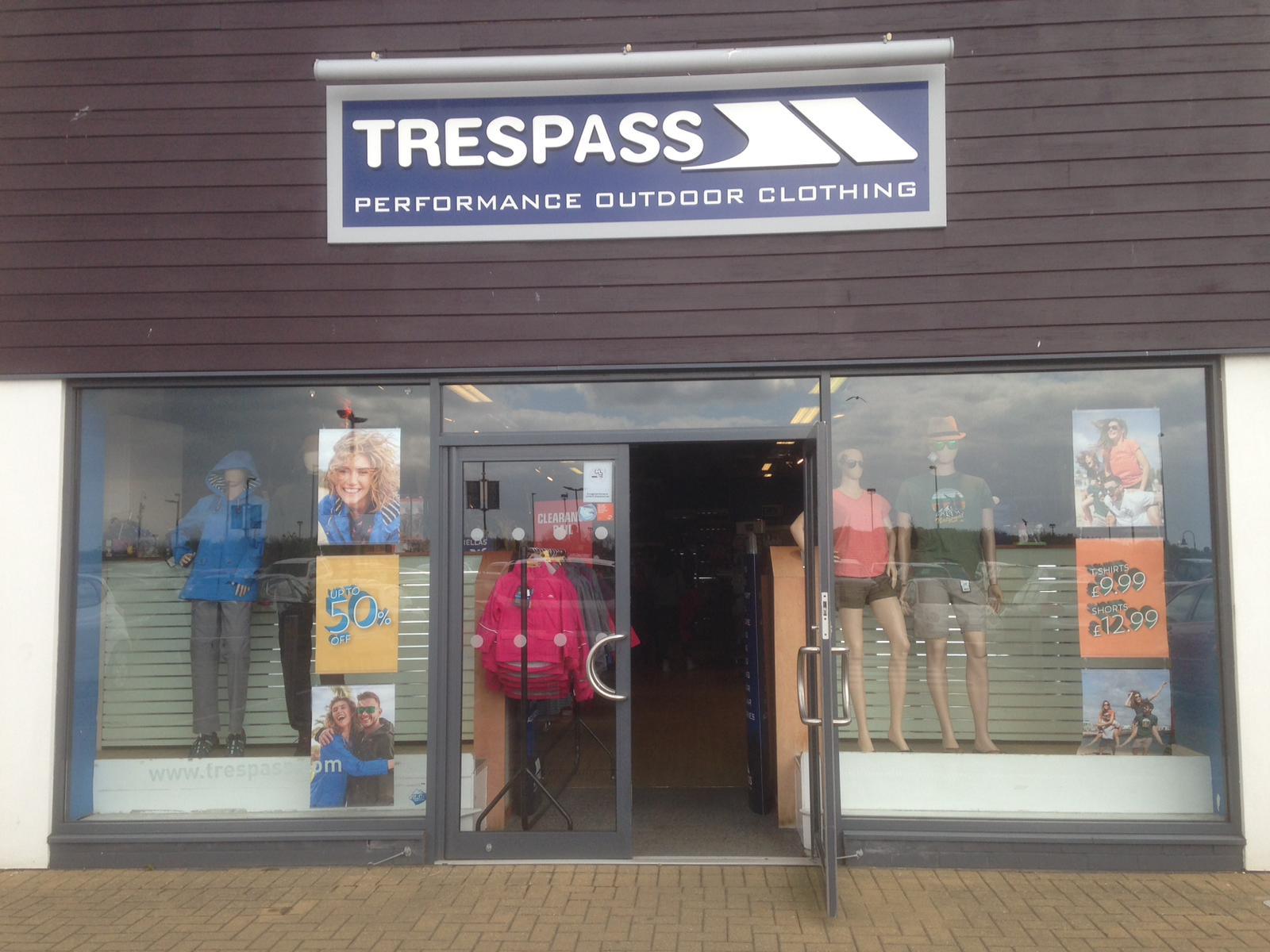 Trespass - Clacton-on-Sea, Essex CO15 4TL - 01255 479493 | ShowMeLocal.com