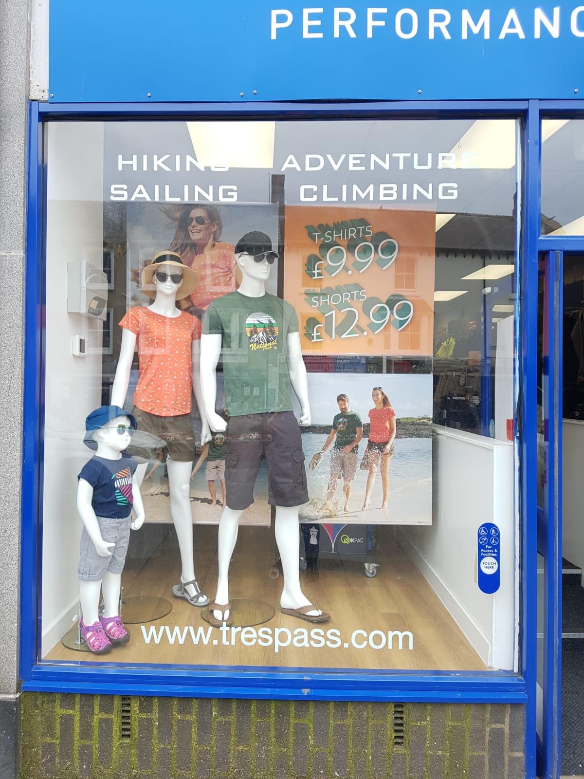 Trespass - Minehead, Somerset TA24 5UF - 01643 702686 | ShowMeLocal.com