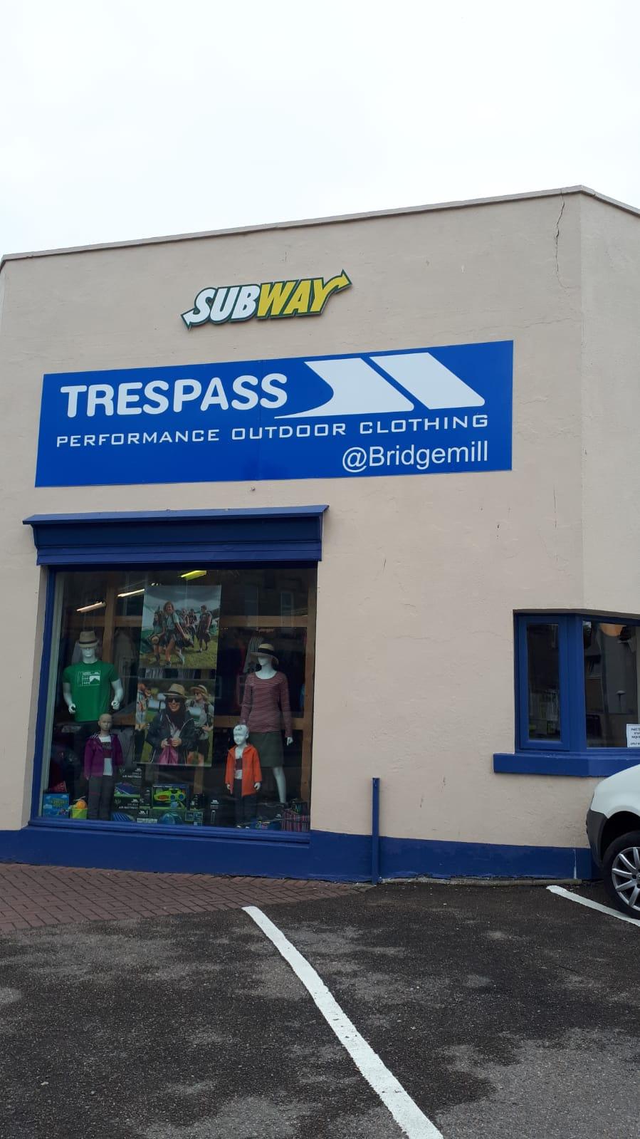 Trespass - Nairn, Inverness-Shire IV12 5AA - 01667 455035 | ShowMeLocal.com
