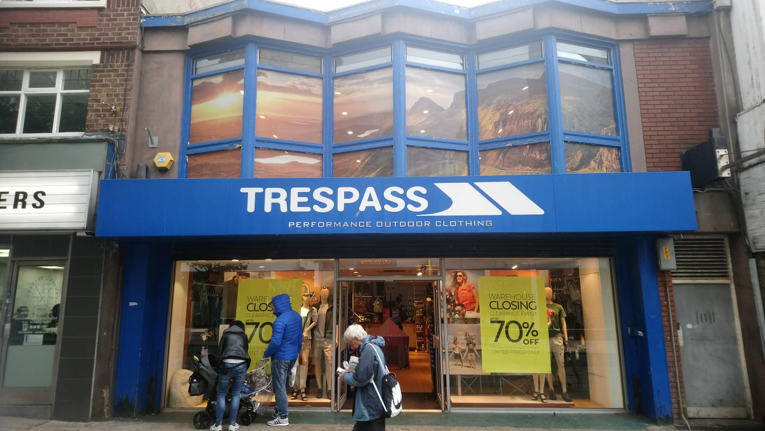 Trespass - Preston, Lancashire PR1 2AP - 01772 824468 | ShowMeLocal.com