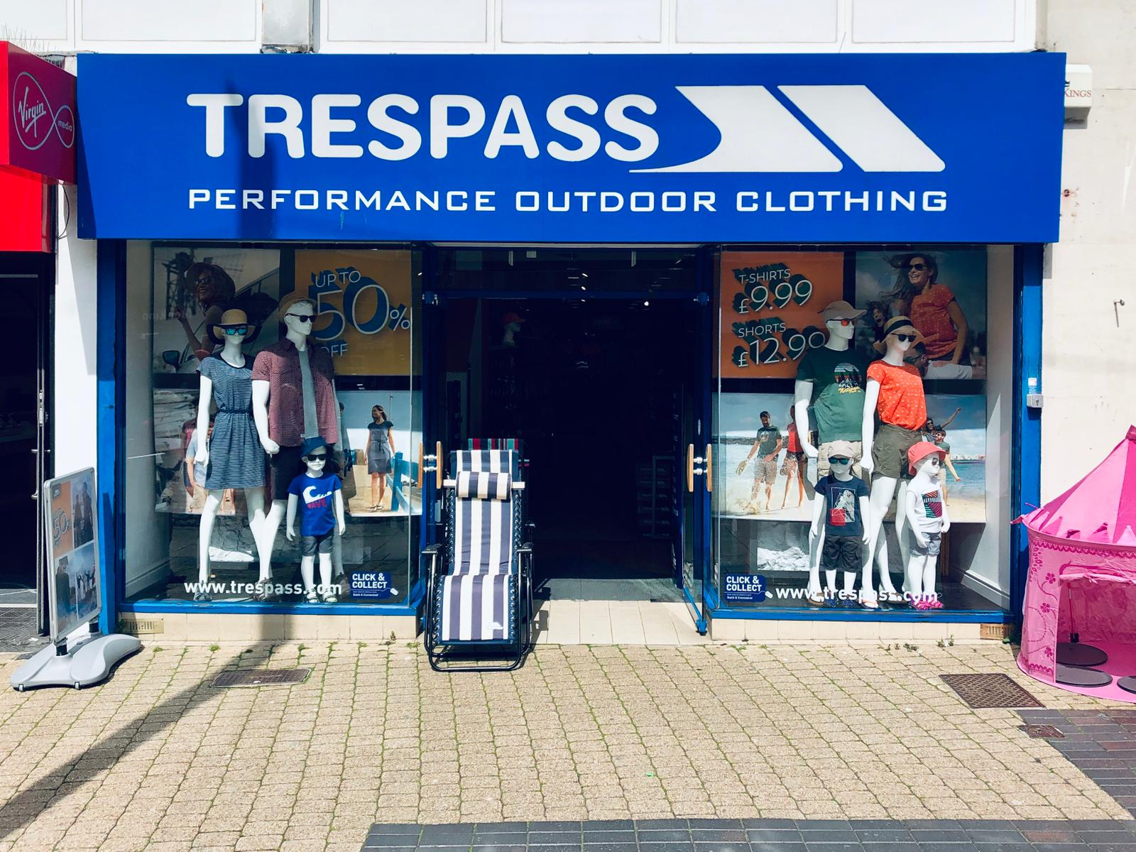 Trespass - Plymouth, Devon PL1 1RW - 01752 262005 | ShowMeLocal.com