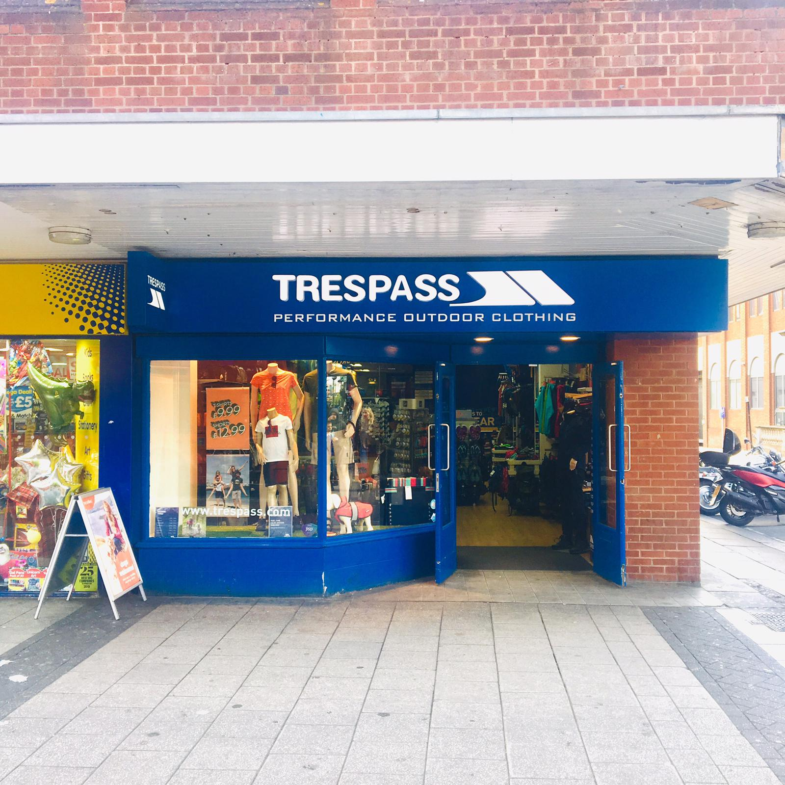 Trespass - Southampton, Hampshire SO14 7FE - 02380 639102 | ShowMeLocal.com