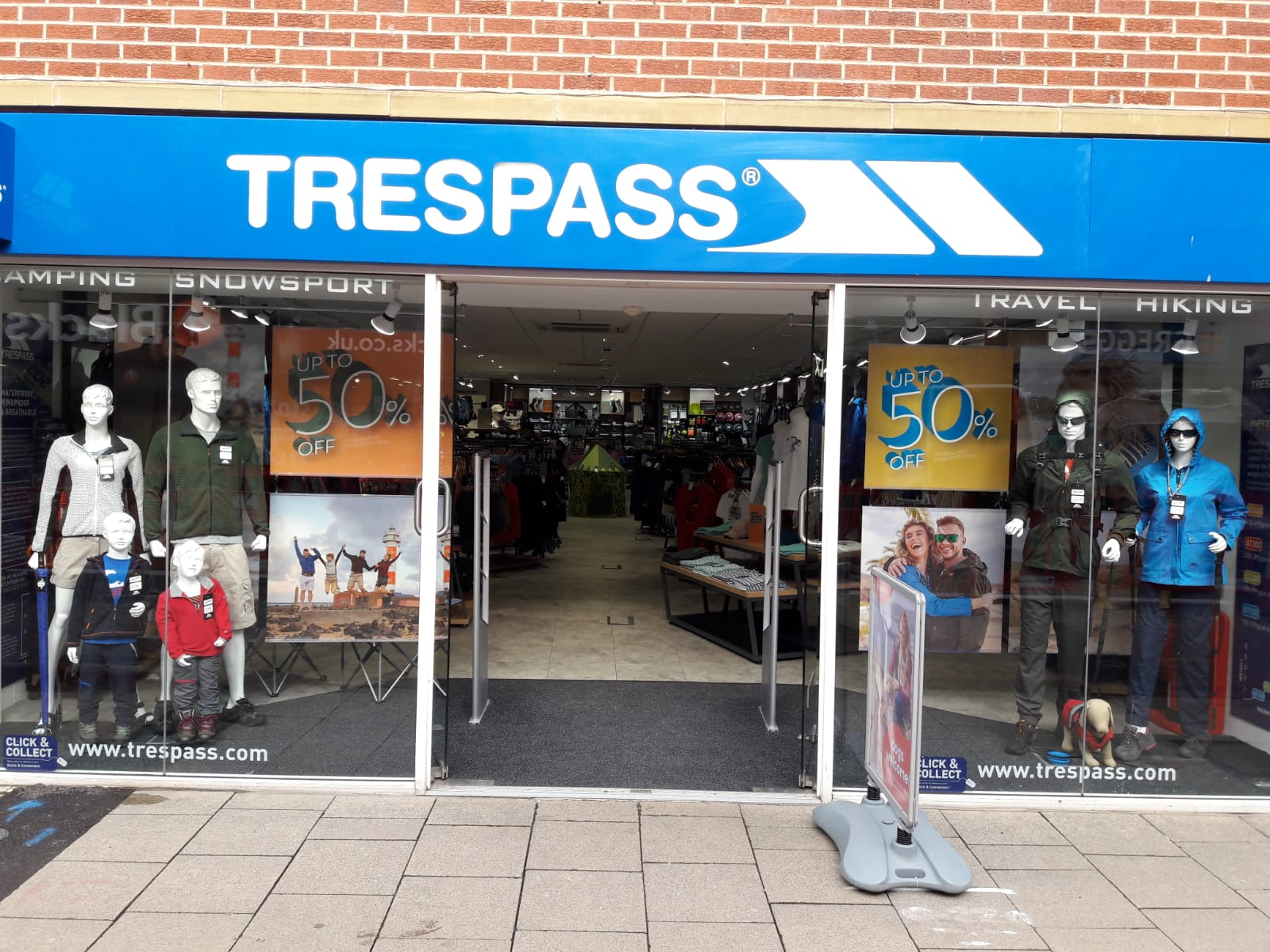 Trespass - Worcester, Worcestershire WR1 2RE - 0190521194 | ShowMeLocal.com
