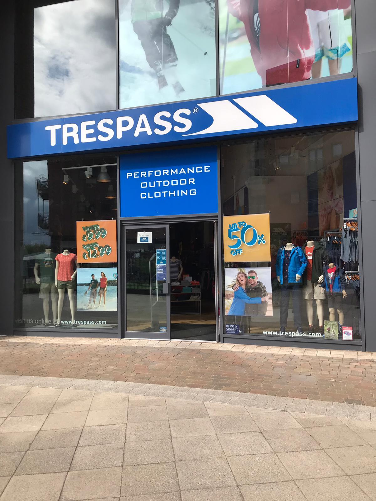 Trespass - Wrexham, Clwyd LL13 8DG - 01978 310447 | ShowMeLocal.com