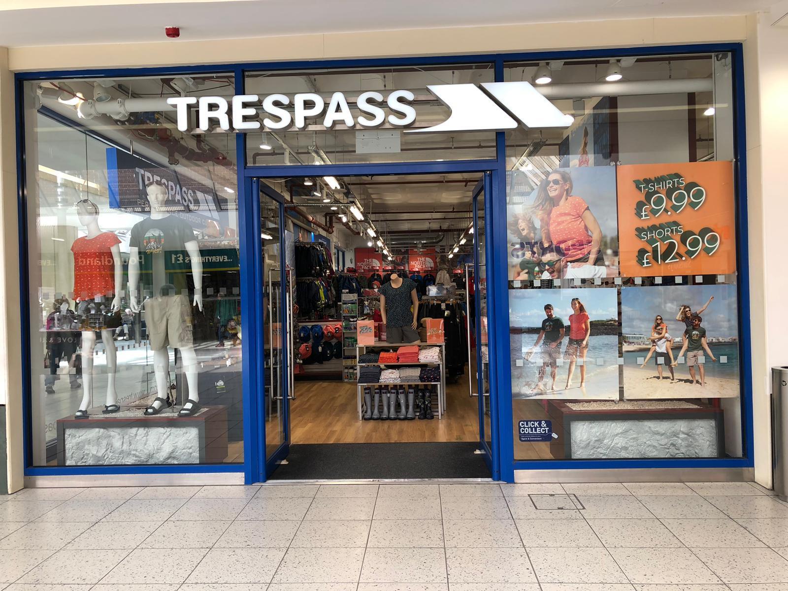 Trespass - Woking, Surrey GU21 6XU - 01483 765870   ShowMeLocal.com