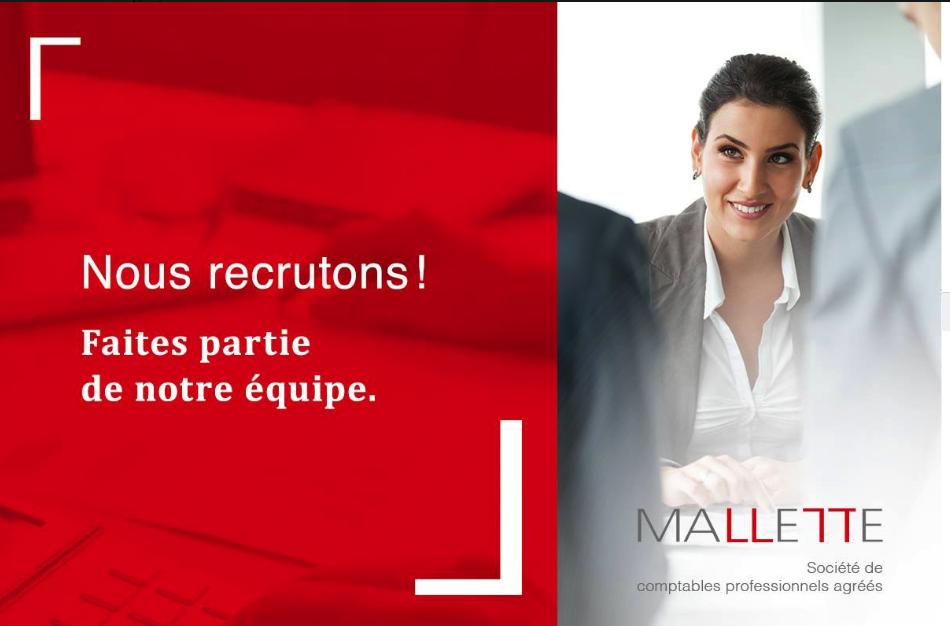 Mallette | Comptable et Fiscaliste | Lévis