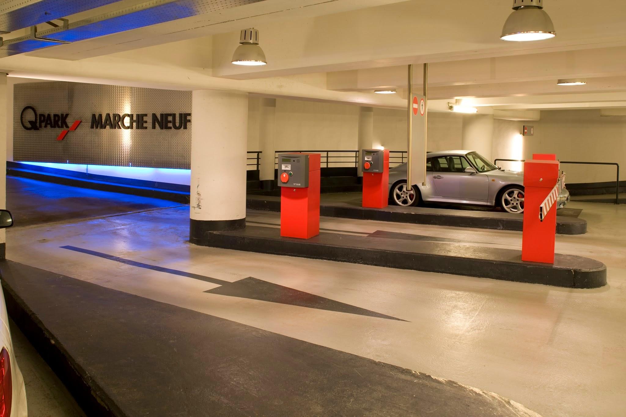 Parking Q-Park Saint-Germain-en-Laye Marché Neuf