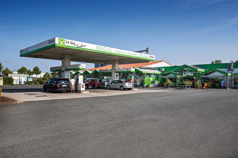 Raiffeisen Münster LAND eG, Raiffeisen-Markt Telgte + Tankstelle