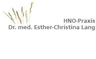 Dr. med. Esther-Christina Lang Wiesloch