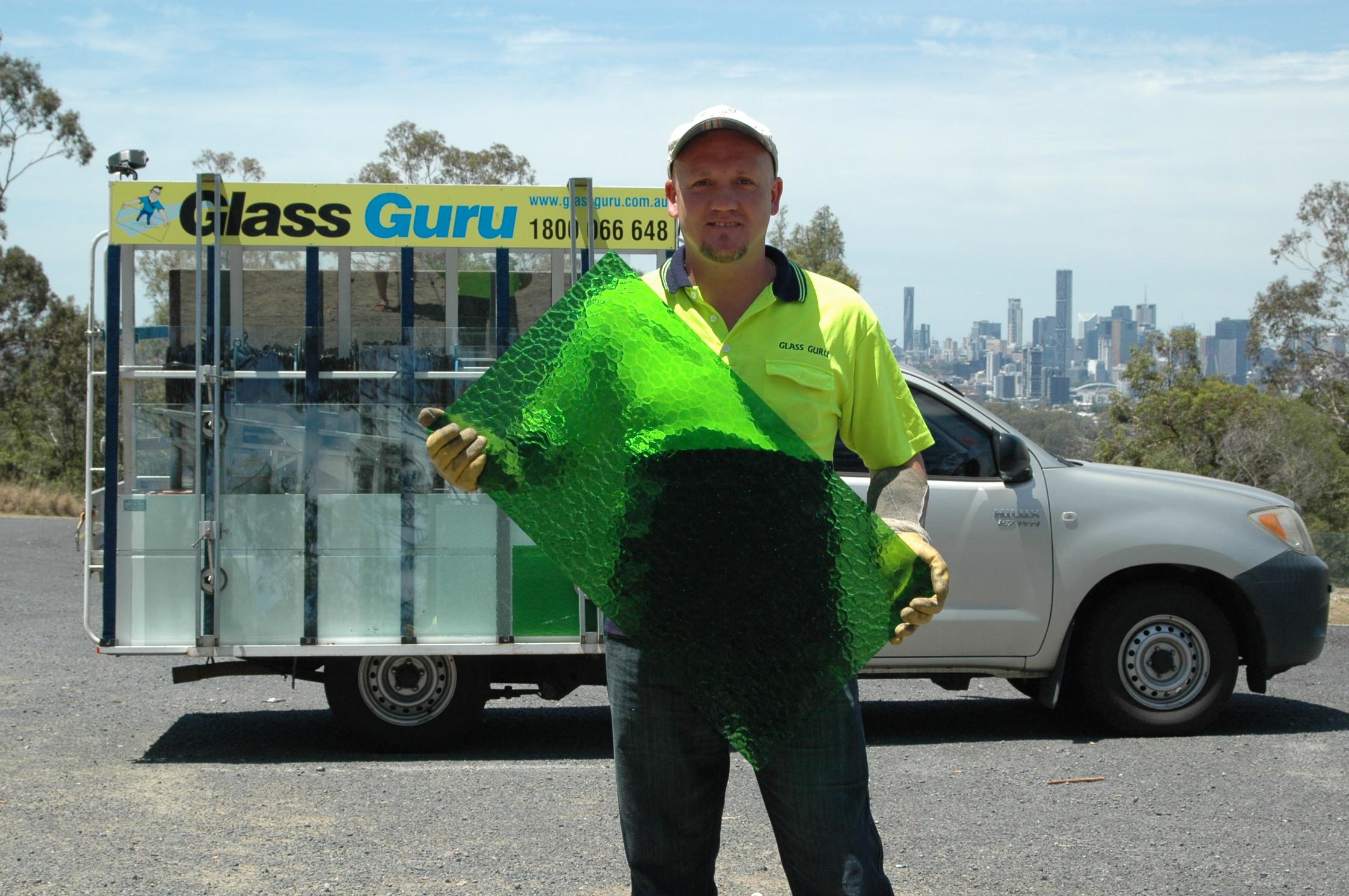 Glass Guru home & office glass replacement. Mobile window glass repair & speedy onsite glazing services in Brisbane