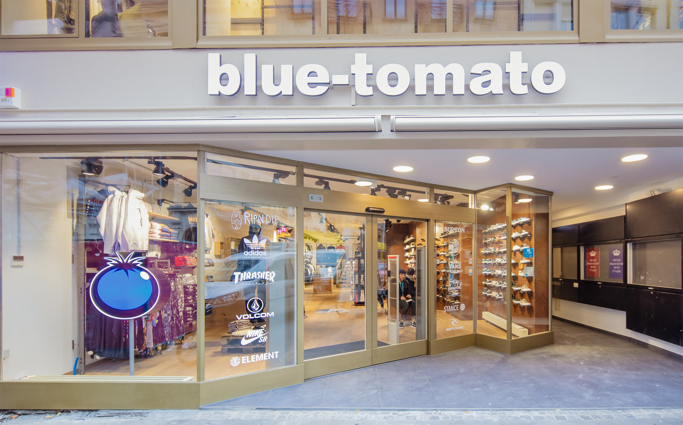 Blue Tomato Shop Basel