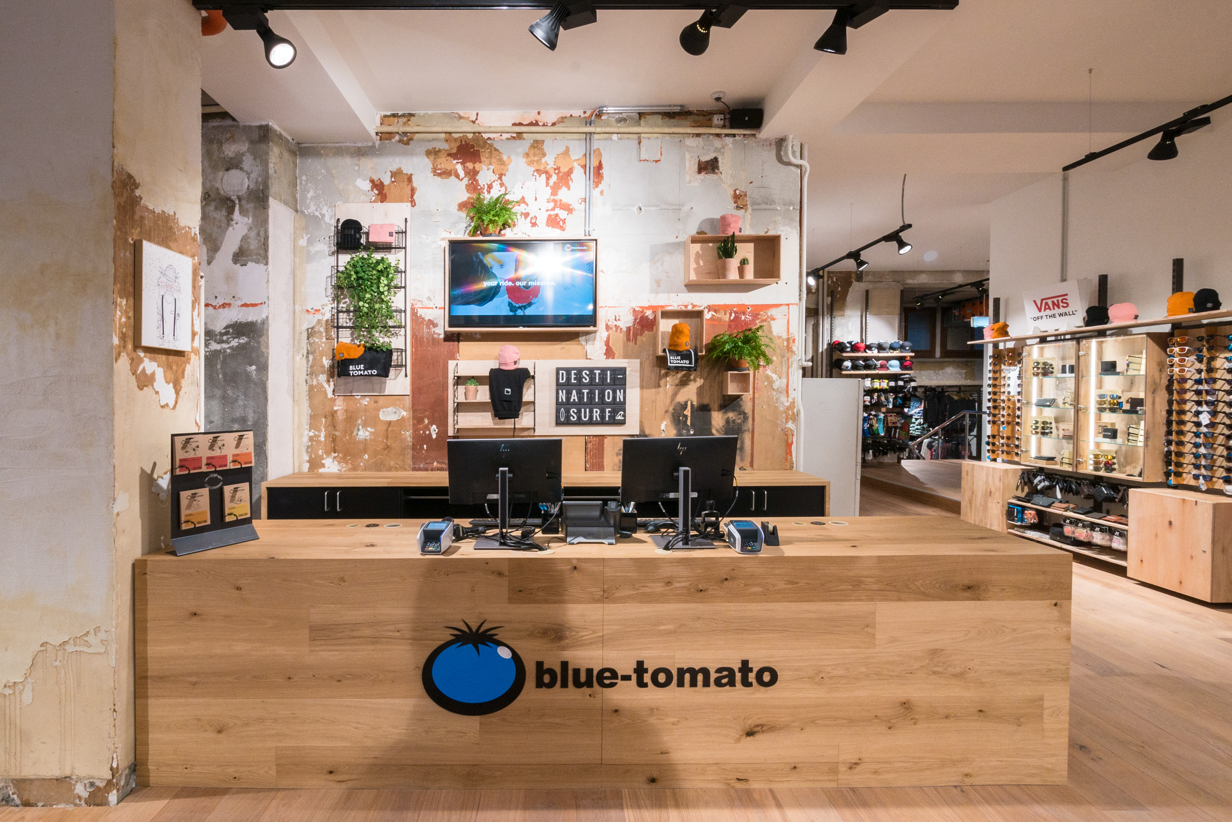 Magasin Blue Tomato Genève