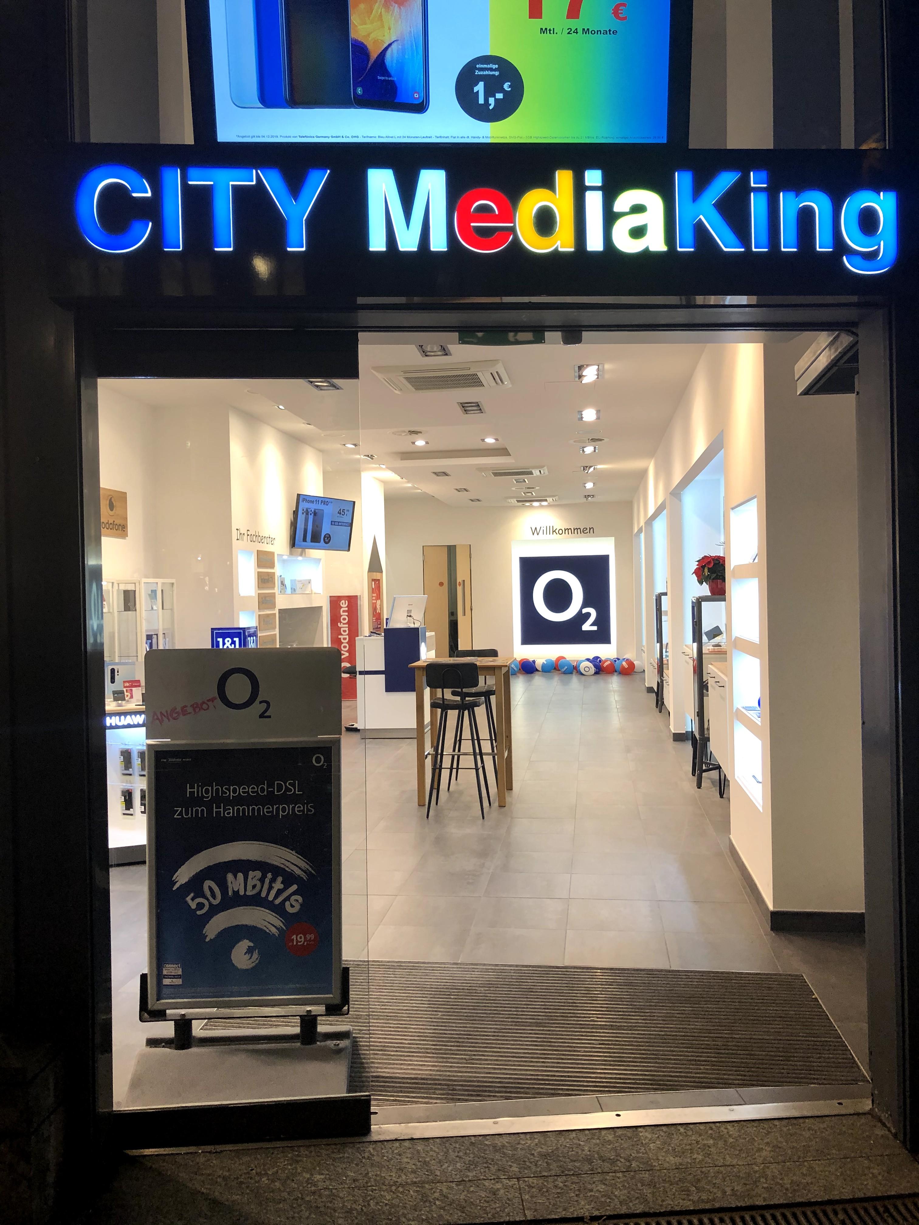 City MediaKing O2 & Vodafone Partner