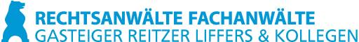 Rechtsanwälte Fachanwälte Gasteiger Reitzer Liffers & Kollegen Logo