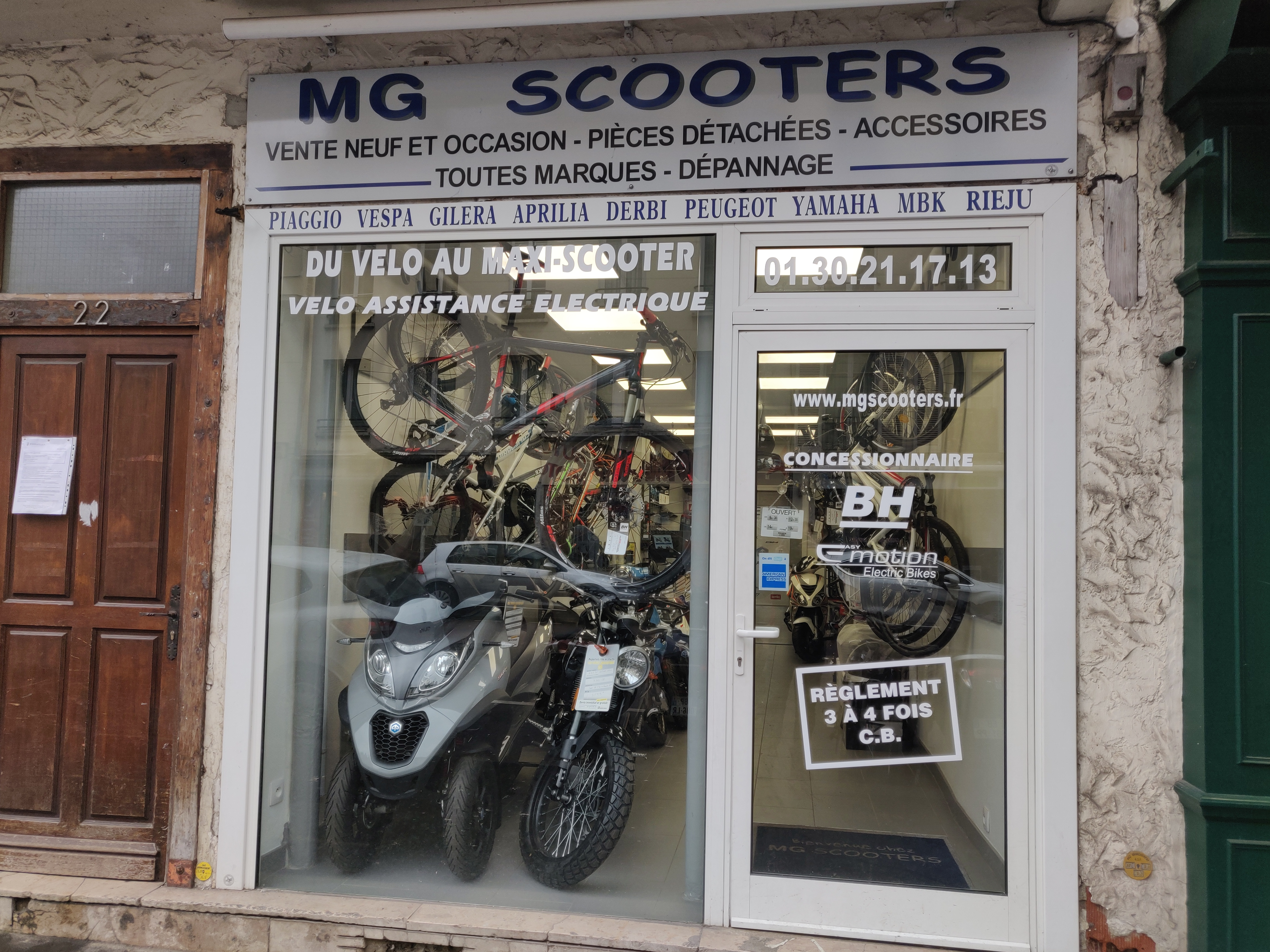 MG SCOOTERS
