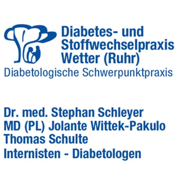 Bild zu Diabetes- und Stoffwechselpraxis Wetter (Ruhr) - Dr. med. Schleyer, Wittek-Pakulo MD (PL), Schulte in Wetter an der Ruhr