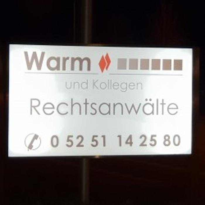 Bild zu Warm & Kollegen Rechtsanwälte in Paderborn