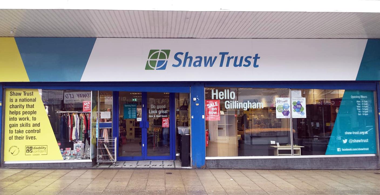 Shaw Trust - Charity shop - Gillingham - Gillingham, Kent ME7 1BJ - 01634 573218   ShowMeLocal.com