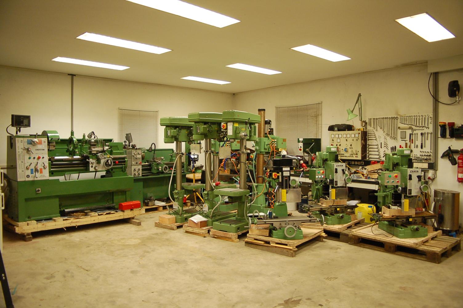 HS- Maschinen- und Gerätehandel