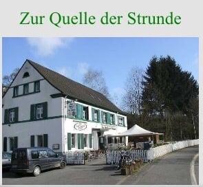 Zur Quelle der Strunde - Gaststätte, Restaurant