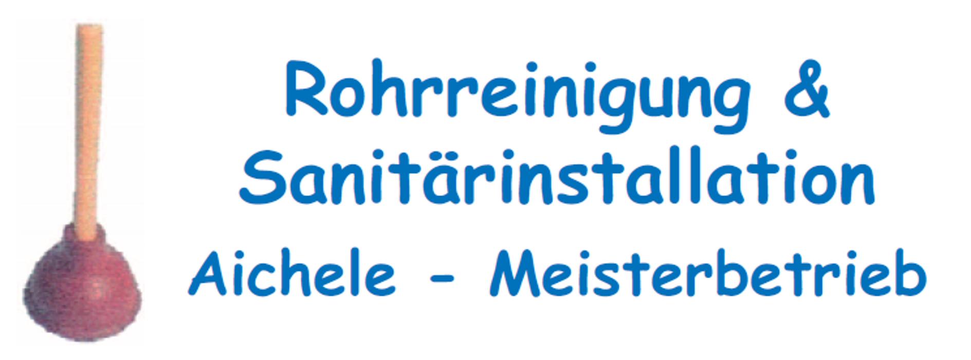 Bild zu Rohrreinigung & Sanitärinstallation Aichele - Meisterbetrieb in Augsburg