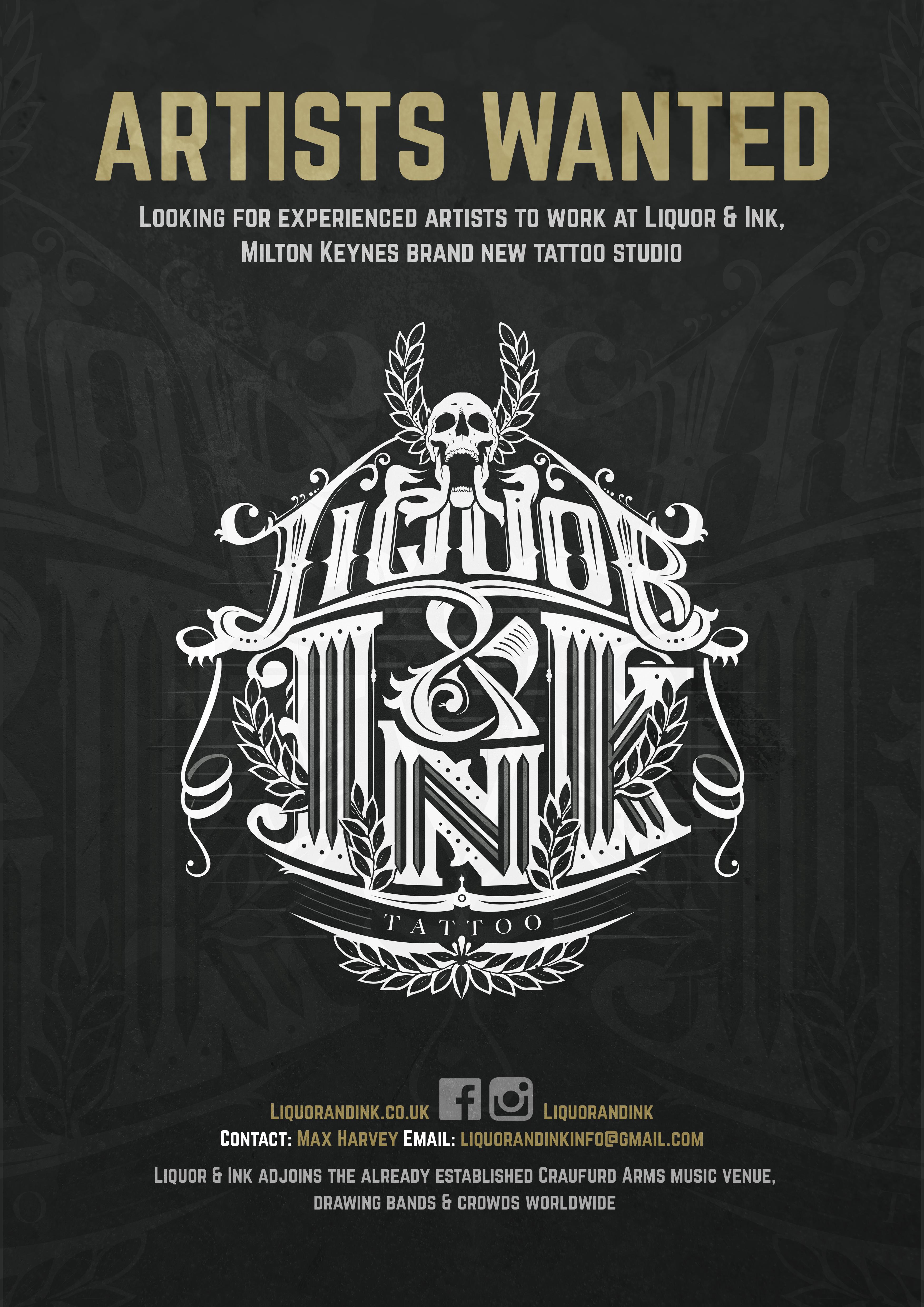 Liquor & Ink Tattoo - Milton Keynes, Buckinghamshire MK12 5LT - 01908 227215 | ShowMeLocal.com
