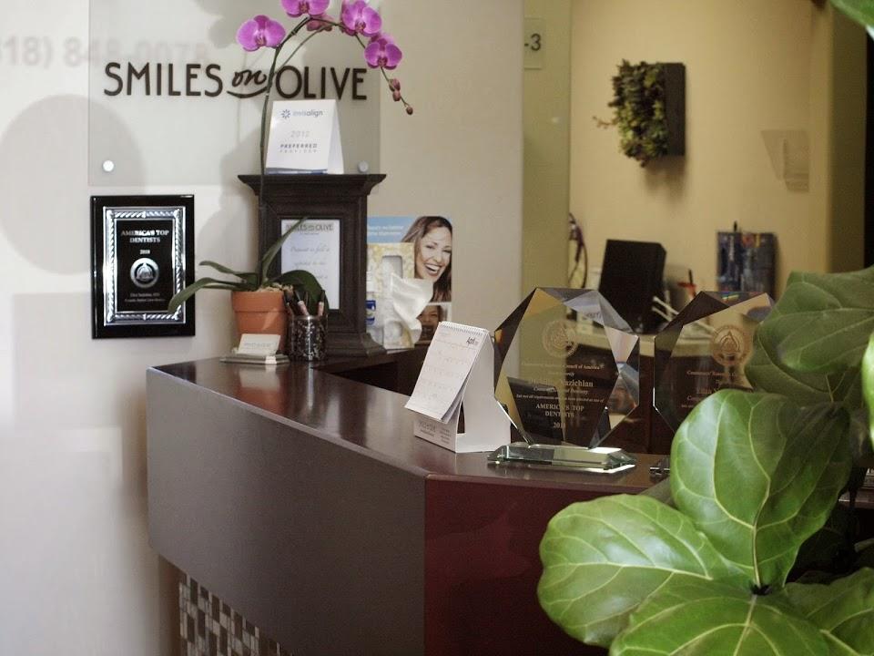 SMILES ON OLIVE