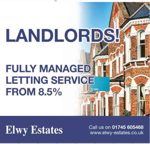Elwy Estates Rhyl 01745 605468