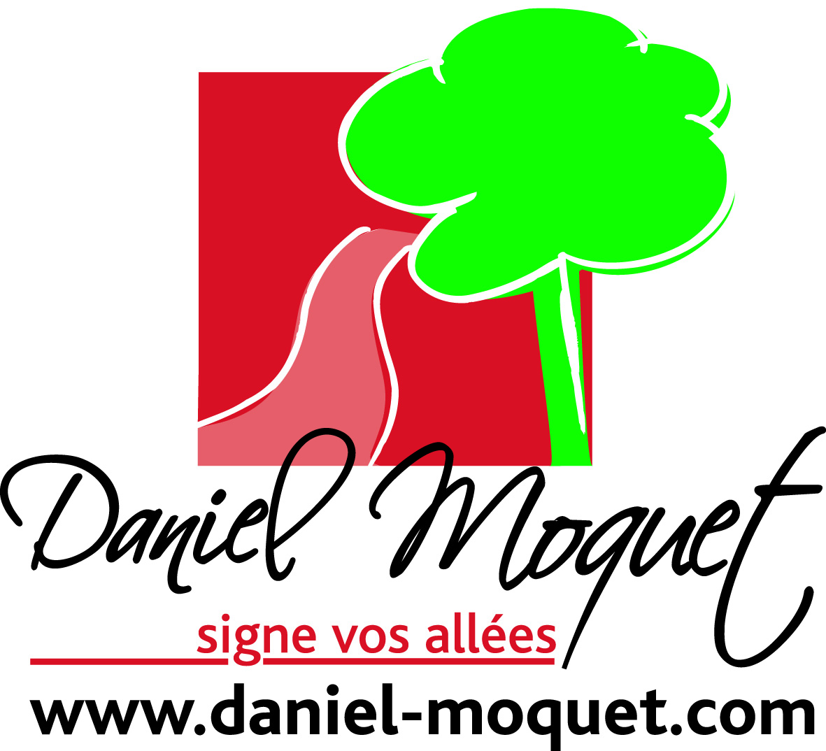 Daniel Moquet signe vos allées - Ent. Lesens