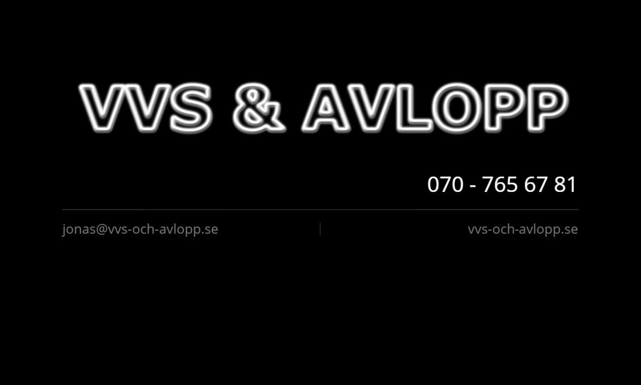 VVS & Avlopp i Nyköping AB