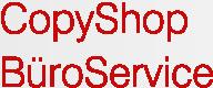 Copyshop und BüroService Monika Zons-Pauli