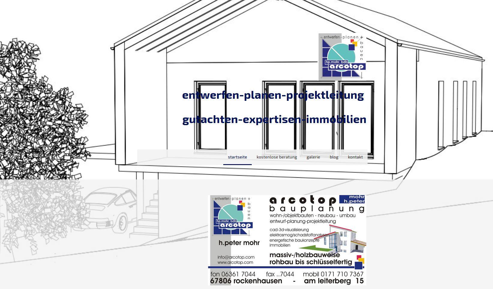 Planungsbüro Arcotop H. Peter Mohr