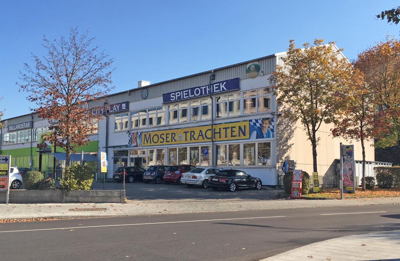 MOSER Trachten, Kistlerhofstraße in München