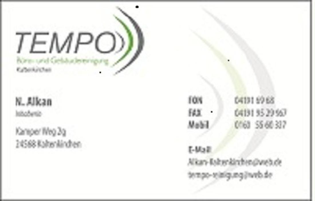 Bild zu Tempo Büro- und Gebäudemanagement e.K in Kaltenkirchen in Holstein