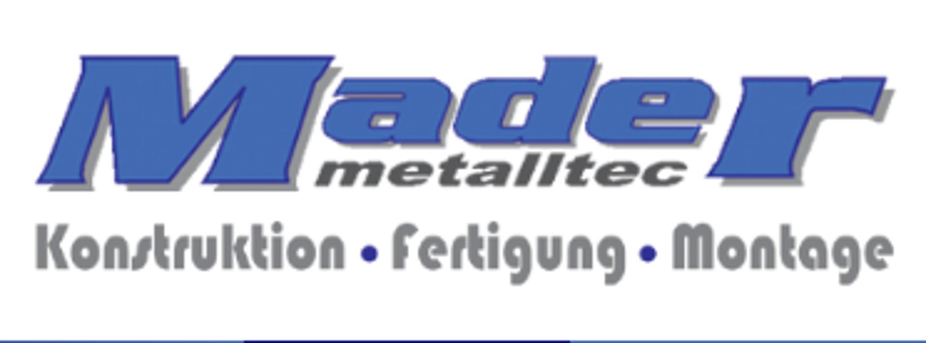 Bild zu Mader Metalltec GmbH & Co.KG in Deggendorf